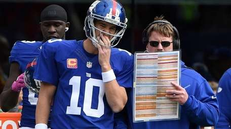 New York Giants head coach Ben McAdoo speaks
