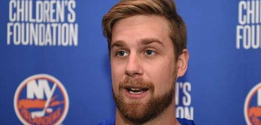 New York Islanders defenseman Calvin De Haan speaks