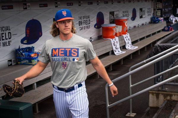 New York Mets starting pitcher Noah Syndergaard. Mets