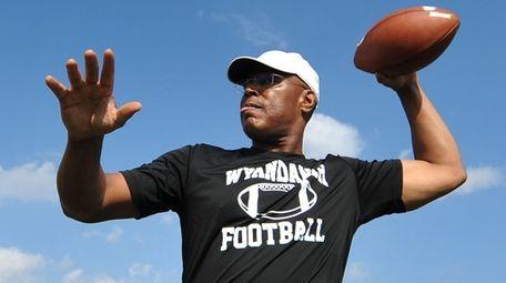 Dwight Singleton, Wyandanch athletic director and varsity football
