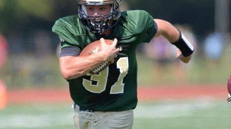Bayport's James Ringer (31) with a 66 yard