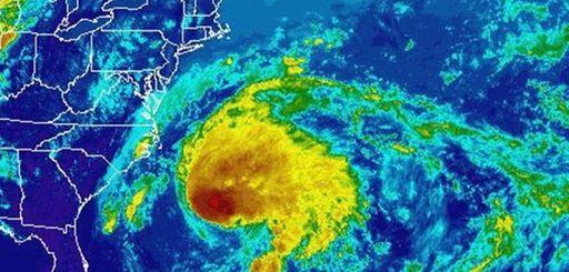Hurricane Jose's location in the Atlantic Ocean as