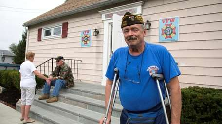 John Chalker, 64-year-old police and Army veteran, has
