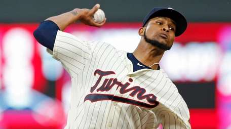 Minnesota's Ervin Santana, here pitching against San Diego
