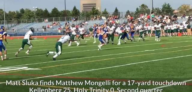 Kellenberg defeated Holy Trinity, 45-0, in CHSAA football,