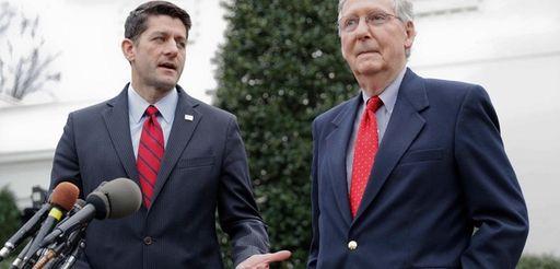Republicans House Speaker Paul Ryan, and Senate Majority