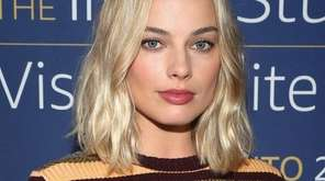 Actress Margot Robbie attends an event at the