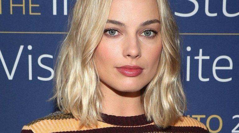 Actress Margot Robbie attends an event at the