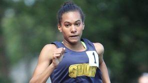 Shoreham-Wading River's Katherine Lee wins the 1500 Meter