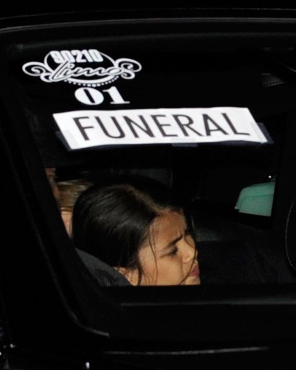 Prince Michael Jackson II (Blanket) arrives at Michael