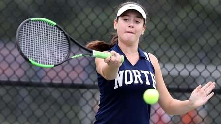 Great Neck North's Amy Delman defeated Manhasset's Madeline