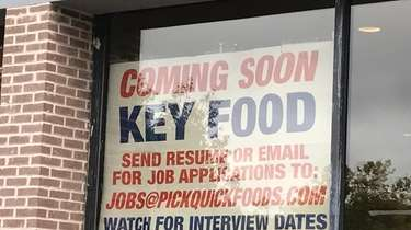 A Key Food supermarket operator will hold job