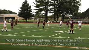 North Shore defeated Garden City, 2-1, in a