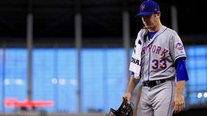 Matt Harvey allowed seven runs and 12 hits
