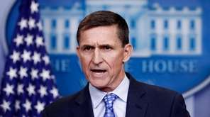 Former national security adviser Michael Flynn at the