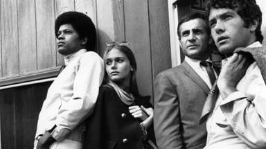 Clarence Williams III, Peggy Lipton and Michael Cole,