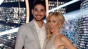 Debbie Gibson with her pro dance partner Alan