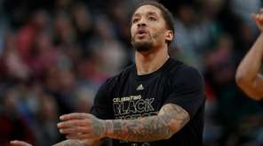 Milwaukee Bucks forward Michael Beasley on Friday, Feb.