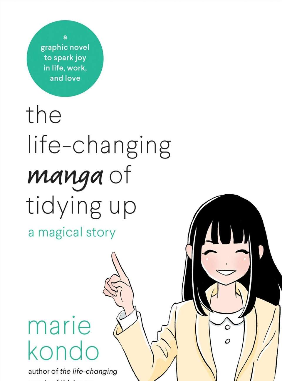 Lifestyle and cleaning guru Marie Kondo weaves her