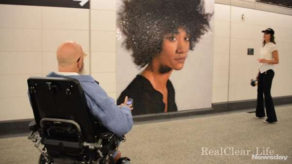 New York City artist Chuck Close, known for
