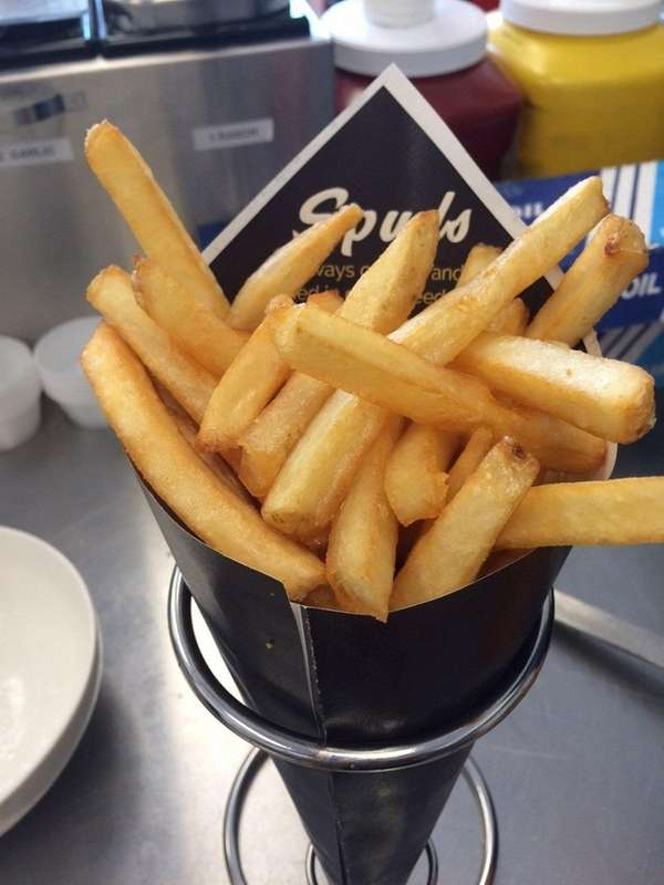 Spuds Pommes Fries in Bellmore specializes in exactly