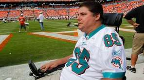 Marc Buoniconti, son of former Miami Dolphins player
