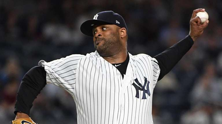 CC Sabathia allowed two runs and six hits