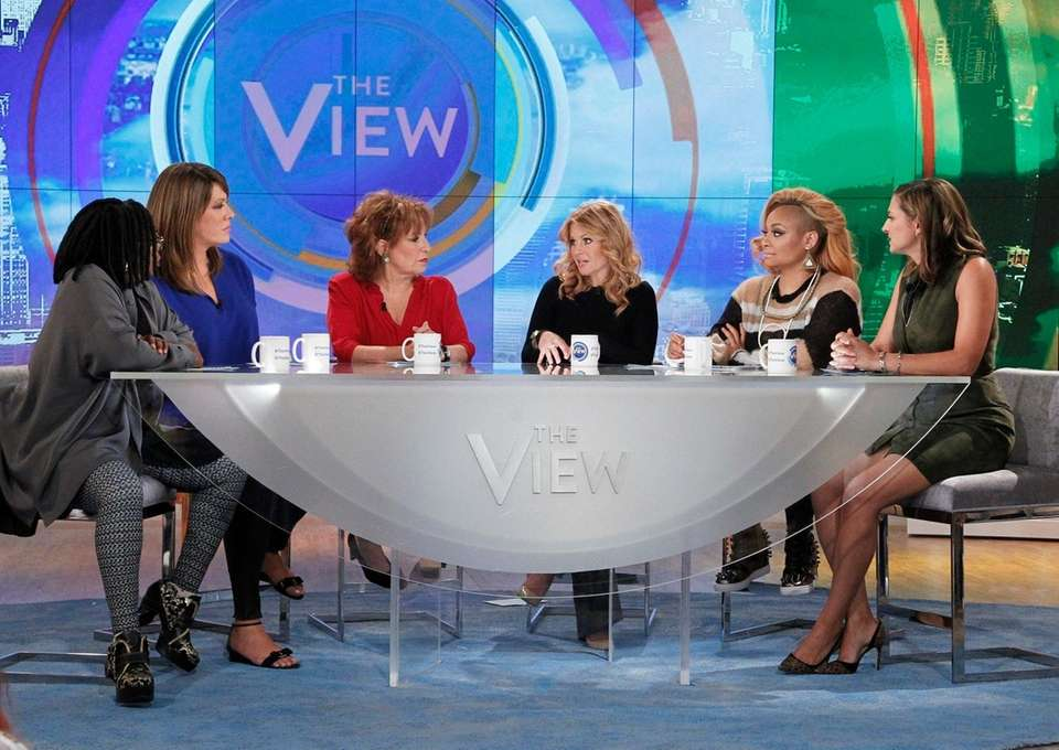 Whoopi Goldberg, Michelle Collins, Joy Behar, Candace Cameron
