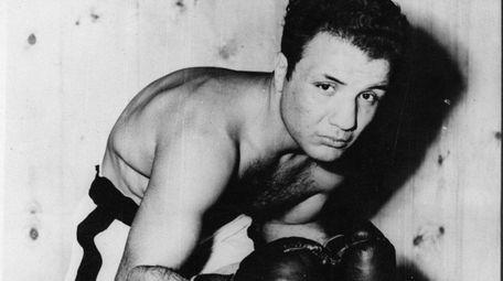 A 1949 photo shows Jake La Motta in