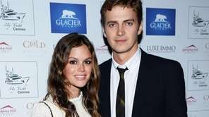 Rachel Bilson and Hayden Christensen in Cannes, France,