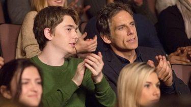 Austin Abrams, left, and Ben Stiller star in