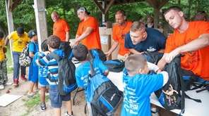 More than 400 local children from homeless shelters