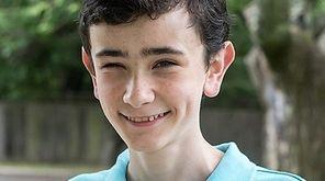 Matthew Redlein, a Smithtown High School East freshman,