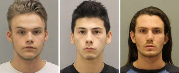 From left, Kevin Staiano, 18, and Brandon Bromberg,