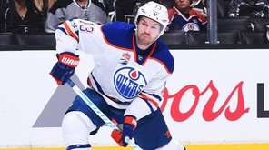David Desharnais  scored a goal in his first