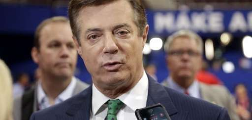 Paul Manafort is seen here on July 17,