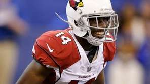 The Cardinals' J.J. Nelson smiles after a 45-yard