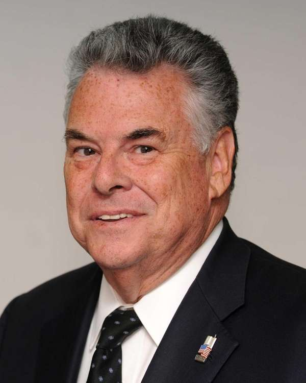 Rep. Peter King, seen on July 3, 2014,