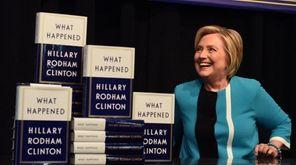 Hillary Clinton kicks off her book tour of