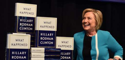 Hillary Clinton kicks off her book tour of