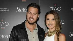 Corey Bohan and Audrina Patridge arrive at the