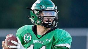 Kevin McCormick of Farmingdale attempts a pass against