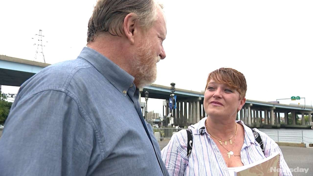 Susan Mote, 48, of Shirley, met Bob Halstead,