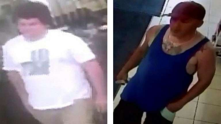 Suffolk County police released photos of these men,