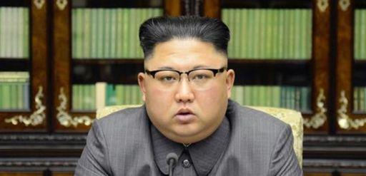 North Korean leader Kim Jong Un delivers a