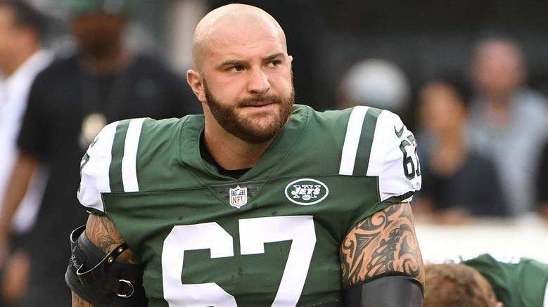 Jets right guard Brian Winters to miss Dolphins Ndamukong Suh