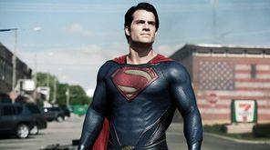 Henry Cavill as Superman in Warner Bros'