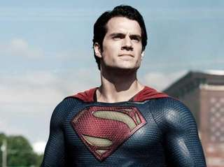 Henry Cavill as Superman in Warner Bros'