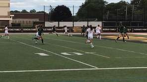 St. Anthony's defeated Holy Trinity, 2-1, in a