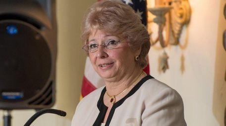 Huntington Republican Chairwoman Toni Tepe is the new